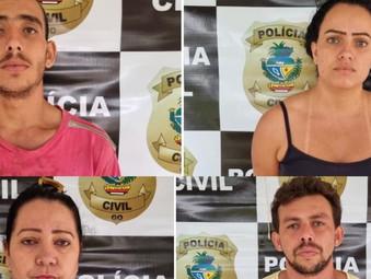 Presos suspeitos de morte de casal em Itaberaí; filho de vítima era verdadeiro alvo