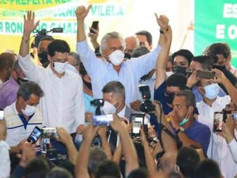 MDB oficializa apoio a Caiado e Daniel Vilela é confirmado pré-candidato a vice-governador