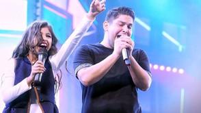 Carol Dias comemora participação no show de Jorge & Mateus durante o Goianésia Mix Festival