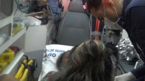Bebe nasce dentro de ambulância do SAMU durante transferência da mãe para hospital em Goiânia