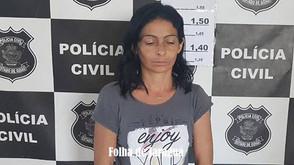 Mulher é presa pela Polícia Civil no Dhema da Mata por suspeita de tráfico de drogas