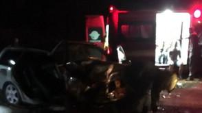 Filhos de PM sofrem acidente na BR-153 ao saberem que o pai tinha morrido em acidente na GO-080