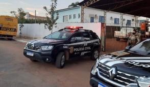 Polícia faz busca e apreensão em Rubiataba contra o Ex-Secretário por desvio de madeira