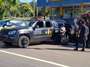 Suspeito de feminicídio é preso pela PM e a PRF de Jaraguá na BR-153 em Rianápolis