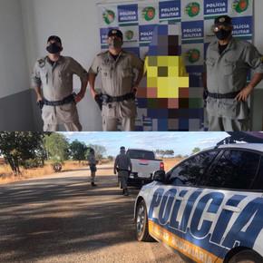 Homem procurado por estupro em Jaraguá é preso na GO-427 em Itaguaru