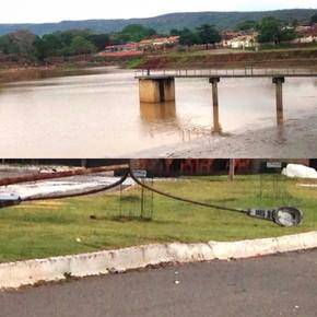 Chuva faz estragos em Jaraguá e ENEL deixa vários bairros sem energia