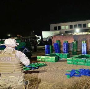 100 toneladas de drogas são apreendidas em Goiás em 21 meses