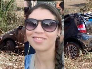 Acidente de trânsito na GO-156 próximo a Heitoraí tira a vida da jovem Camila Silva