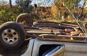 Duas pessoas morreram e duas ficaram feridas na GO-230 próximo a Uruana