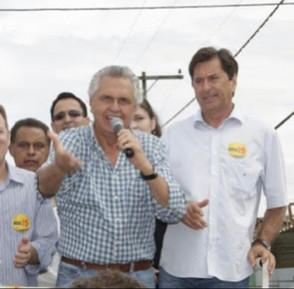 Caiado diz que Goiás perde um dos seus mais notáveis líderes ao se referir a Maguito Vilela