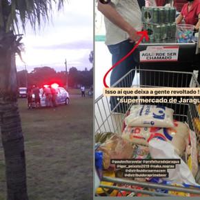 Frequentadores do Lago Passarela e dono de supermercado são multados em Jaraguá