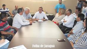 Saneago poderá ajudar o município na pavimentação do Santa Fé e Primavera III