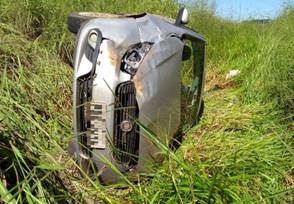 Família sofre acidente na BR-153 após retornar de velório no Estado do Pará