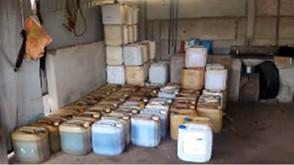 Duas pessoas são detidas suspeitas de receptação de combustível em Goianésia
