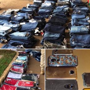 Operação da PM-GO, PRF, PM-DF recuperam roupas e celulares roubados em Jaraguá