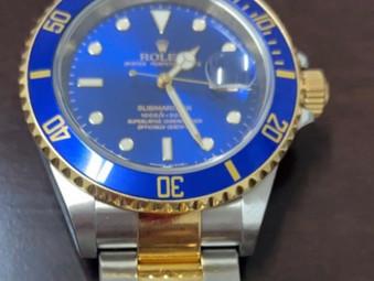 Polícia Civil de Goiás recupera relógio Rolex furtado avaliado em R$ 100 mil reais