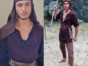 Jaraguense de 23 anos é selecionado para o elenco da Novela Gênesis na TV Record