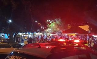 Oito pessoas são presas após briga generalizada na Festa da Cultura de Jesúpolis
