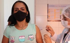 Jaraguá começa a imunização de quem tem 32 anos na segunda-feira, dia 26