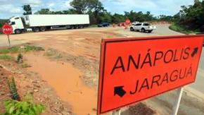 Galvão Engenharia informa que irá liberar o trânsito no viaduto da BR-153 com a GO-080 em São Franci