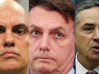 Bolsonaro pedirá ao Senado impeachment de Barroso e Alexandre Moraes