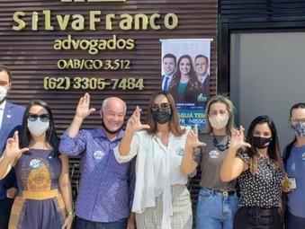 Silva Franco Advogados declara apoio à Drª Edilma, a presidência da Subseção da OAB de Jaraguá