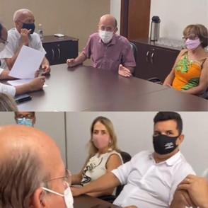 Deputado Federal Rubens Otoni (PT) promete emenda a gestão de Paulo Vitor