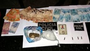 Suspeito é preso pela Polícia Civil no Jardim Vera Cruz, com drogas e munição