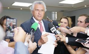 Caiado fará pronunciamento para dizer que a situação da Covid em Goiás chegou ao limite
