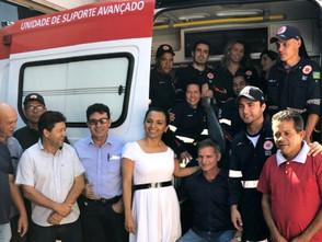 Prefeitura repassa UTI Móvel para o atendimento do SAMU de Jaraguá