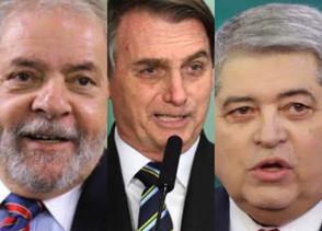 Paraná Pesquisas mostra Bolsonaro e Lula em empate técnico, com Datena em terceiro