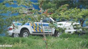 GIRO: Criminosos invadem fazenda em Jaraguá, rendem vítimas, levam veículo e diversos objetos