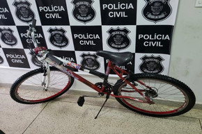Após apelo nas redes sociais, bicicleta furtada em Jaraguá é recuperada