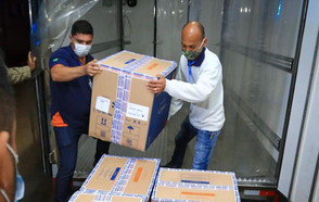 Goiás recebe mais 120 mil doses de vacina contra a Covid-19, Pfizer e CoronaVac