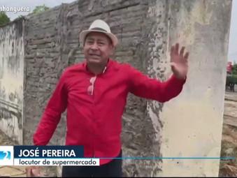 Imagens de tempestade em Jaraguá captadas por Zé Fhogo é destaque na TV