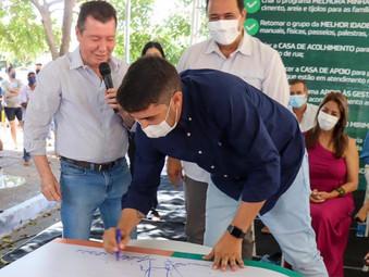 Jaraguá recebe cheque de 993 mil reais com recurso para ser aplicado na área da saúde