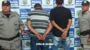 Criminosos que assaltaram mercado em Jesúpolis são presos pela PM em São Francisco
