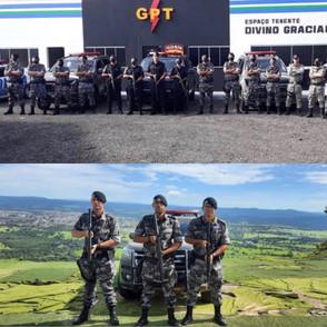 PM dá continuidade a Operação Saturação em Jaraguá com apoio da equipe do Choque