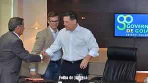 Marconi Perillo estará em Jaraguá no mês de maio para assinar ordem de serviços para obras