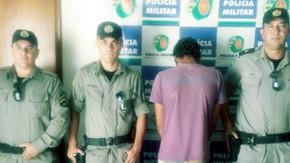 Ninguém escapa da criminalidade em Jaraguá. PM recupera som furtado da Igreja Católica