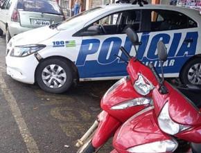 Polícia Militar registra mais um furto de moto no Jardim Ana Edith em Jaraguá