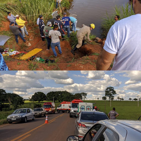 Idosa morre em acidente de trânsito na GO-154 entre Carmo do Rio Verde e Uruana