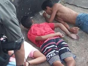 Detento com tornozeleira é preso pela PM de Jaraguá com droga e veículo roubado
