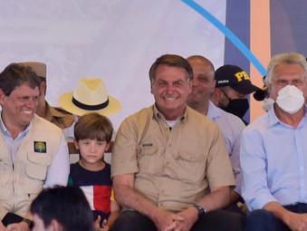 Ferrovia lançada por Bolsonaro em Goiás promete gera 4,6 mil empregos