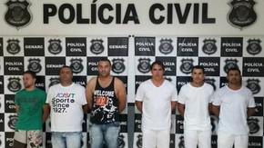 Mega operação policial prende em Goianésia quadrilha especializada em roubos de pneus