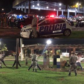 Polícia aplica 32 multas/TCOs e apreende 03 carros em operação na região de Jaraguá