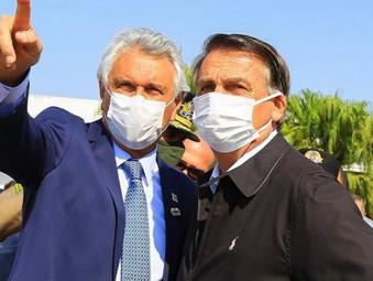 Ao lado de Caiado, Presidente Bolsonaro garante terreno para Hospital do Câncer de Goiás