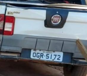 Criminosos amarram vítimas e roubam veículo e dinheiro em fazenda em Jaraguá