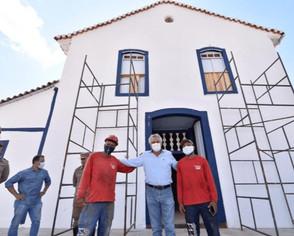 Governador irá entregar restauração da Igreja Nossa da Conceição de Jaraguá dia 29