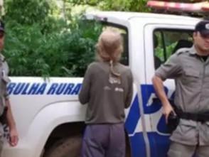 Em Pirenópolis, idoso é preso com 16 pés de maconha, armamento e munições